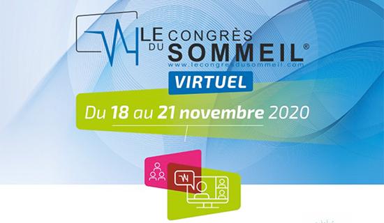Live au 1er Congrès du Sommeil virtuel de la SFRMS