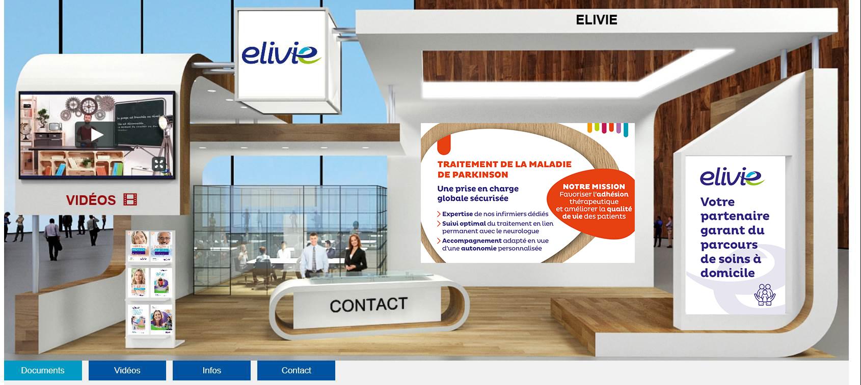Elivie reste présent sur les congrès virtuels